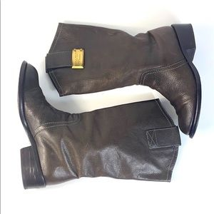 Marc by Marc Jacobs Brown Leather Boots